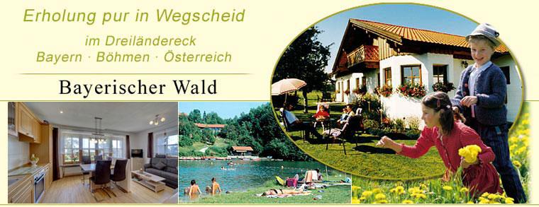 Ferienwohnungen in Wegscheid im Bayerischen Wald